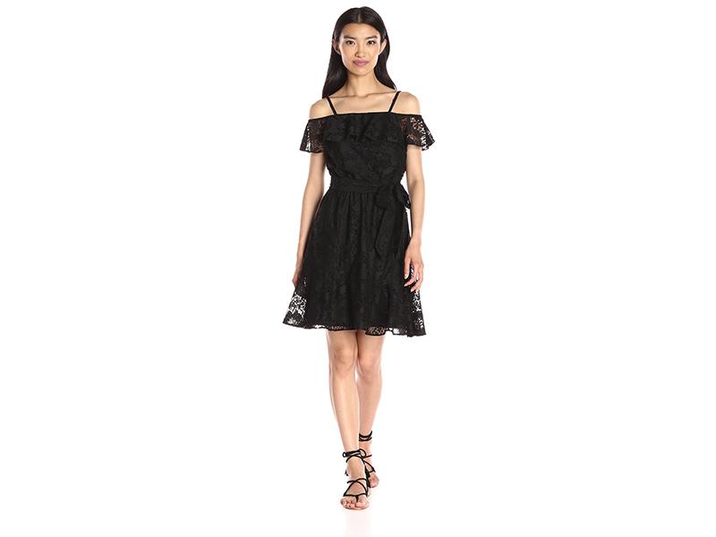 Jessica Simpson Lace Off the Shoulder Dress