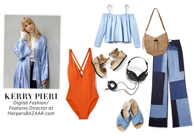Kerry Pieri Pack for Vacation