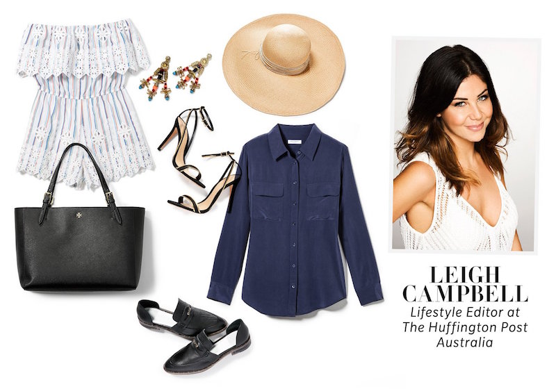 Leigh Campbell Pack for Vacation