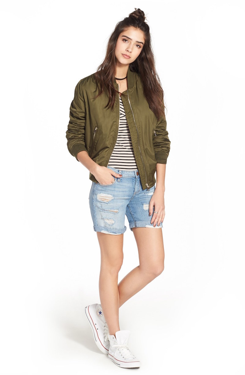 Levi's 501 CT Distressed Denim Shorts