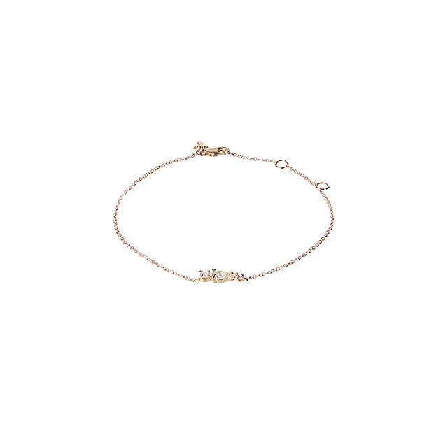 Loren Stewart Diamond, Sapphire & Yellow-gold Bracelet