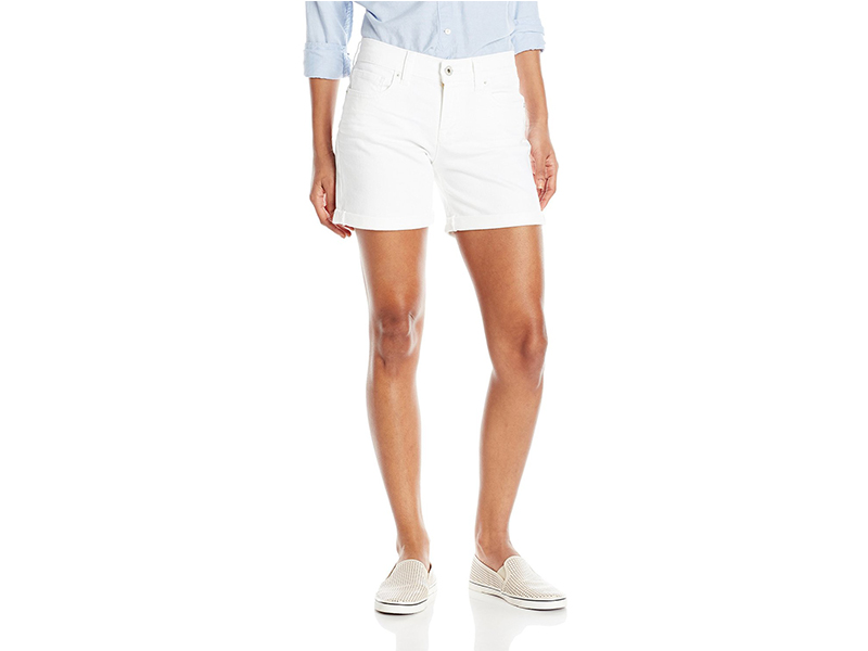 Lucky Brand The Roll Up Short In White Cap