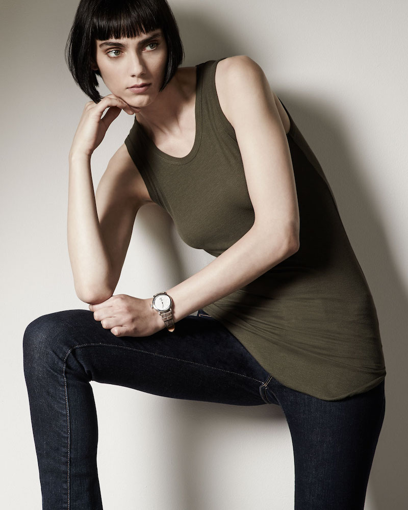 Majestic Paris for Neiman Marcus Extra-Fine Long Knit Tank