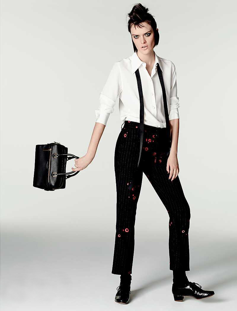 Marc Jacobs Floral Cropped Bowie Pants