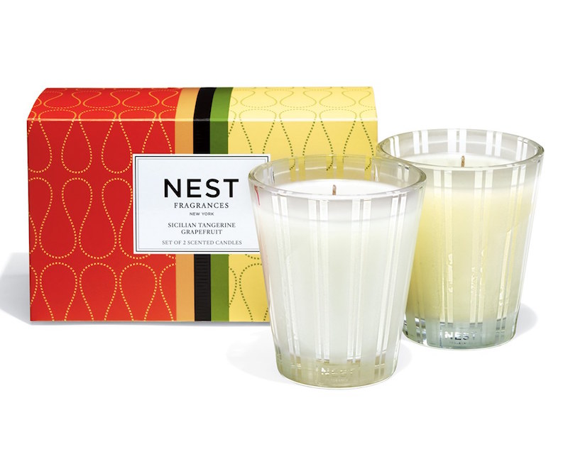 NEST Fragrances Sicilian Tangerine & Grapefruit Classic Candle Duo