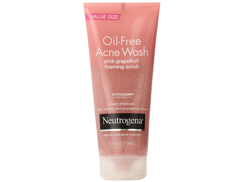 Neutrogena Oil-Free Acne Wash Scrub