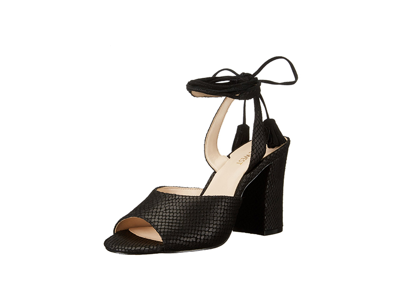 Nine West Bellermo Leather Dress Sandal