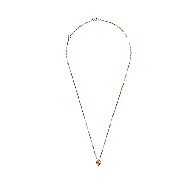 Noor Fares Cube Diamond & Yellow-gold Necklace