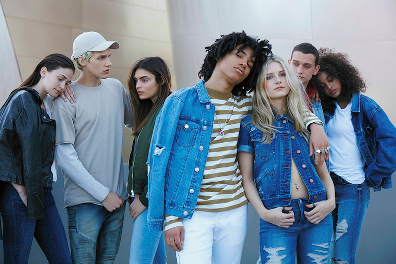PacSun Denim 2016 Campaign feat. Lottie Moss and Luka Sabbat_1