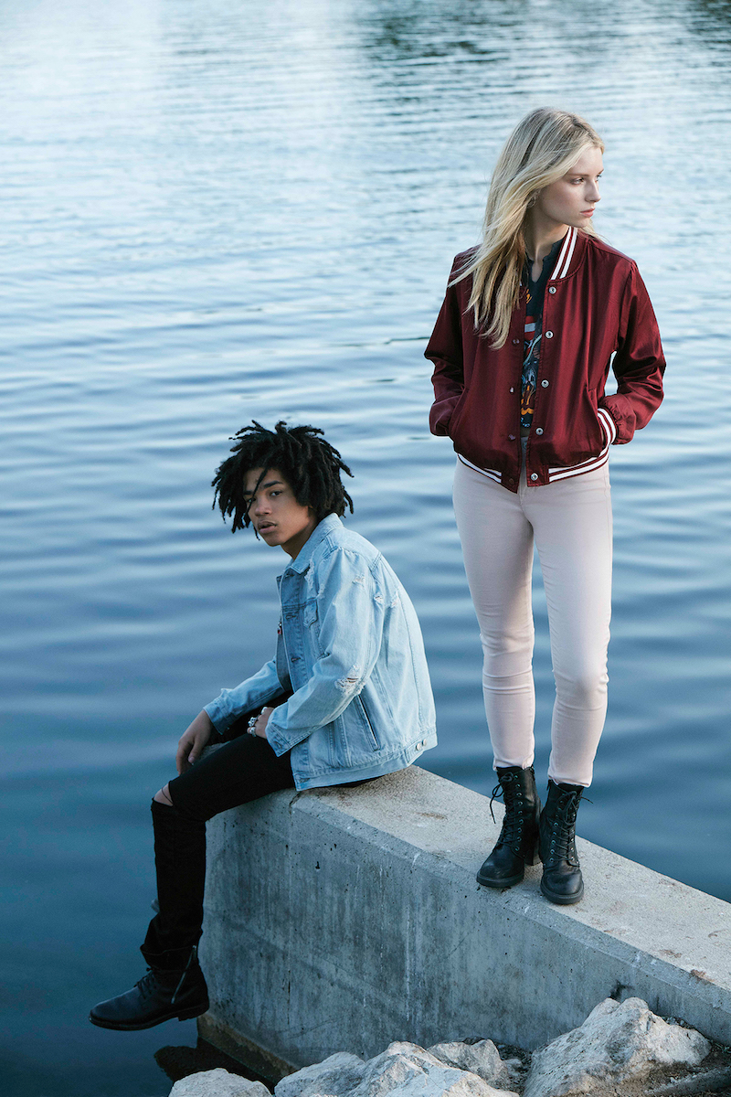 PacSun Denim 2016 Campaign feat. Lottie Moss and Luka Sabbat_14