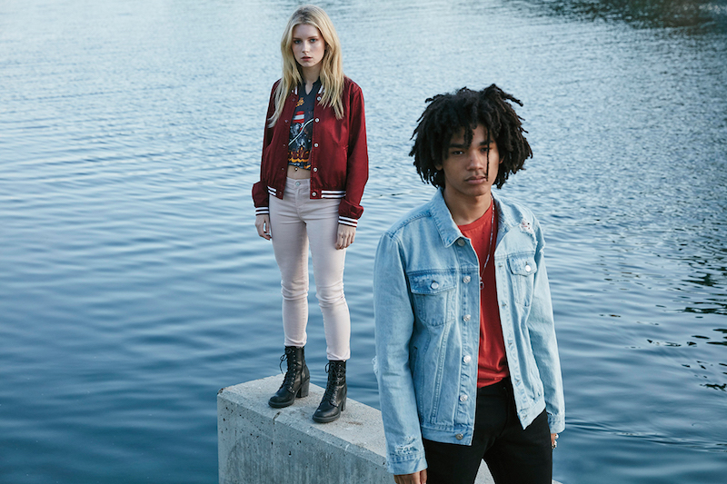PacSun Denim 2016 Campaign feat. Lottie Moss and Luka Sabbat_15