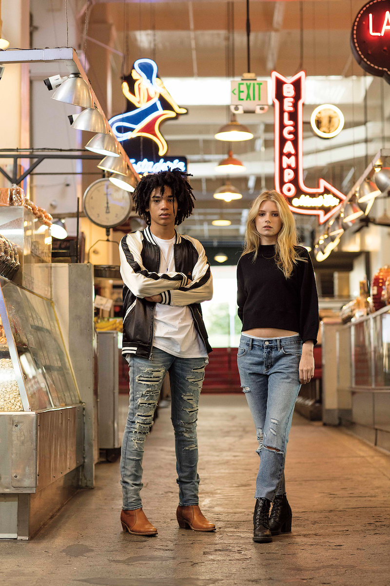 PacSun Denim 2016 Campaign feat. Lottie Moss and Luka Sabbat_16