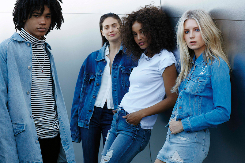 PacSun Denim 2016 Campaign feat. Lottie Moss and Luka Sabbat_2