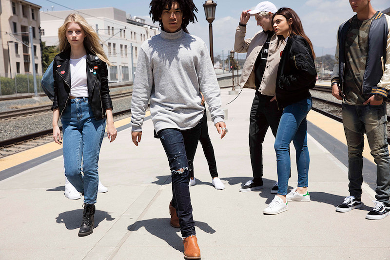 PacSun Denim 2016 Campaign feat. Lottie Moss and Luka Sabbat_5