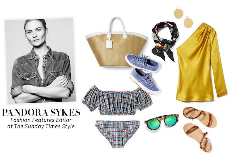 Pandora Sykes Pack for Vacation