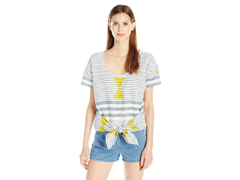 Plenty by Tracy Reese Tie Front Tee