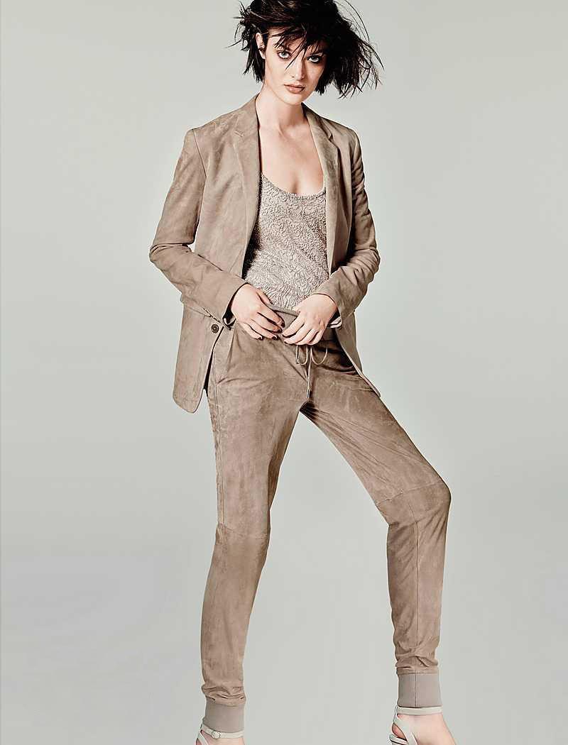 Ralph Lauren Collection Yvette Suede Jacket
