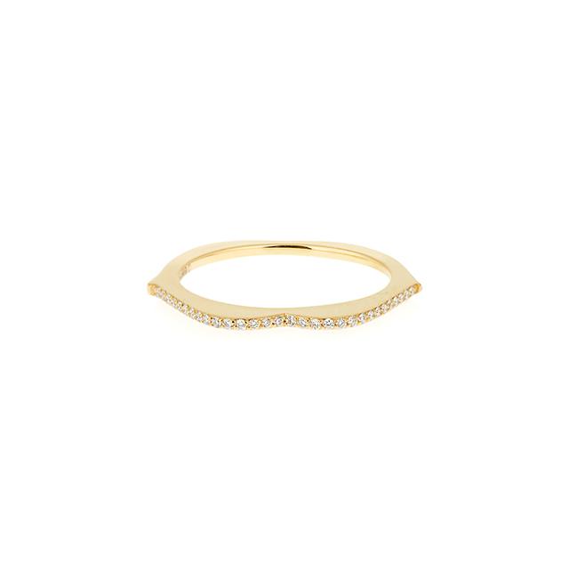 Raphaele Canot OMG! Diamond & Yellow-gold Ring