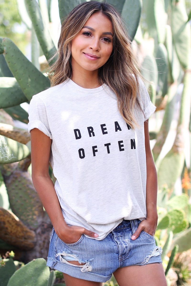 SINCERELY JULES Dream Often Graphic Tee