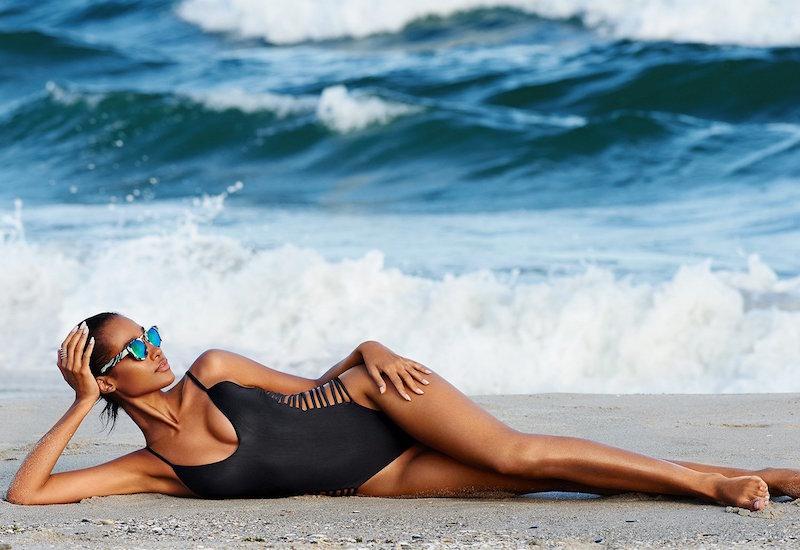 SOFIA by ViX Solid Black Dive Swimsuit