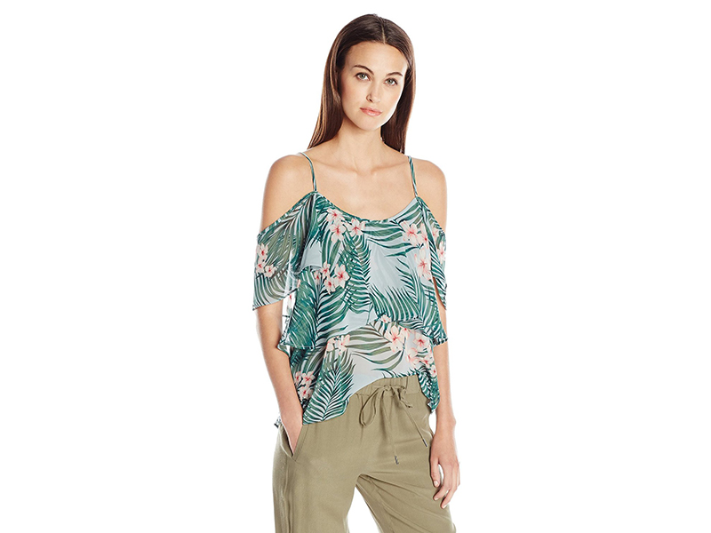 Show Me Your Mumu Romance Ruffle Top