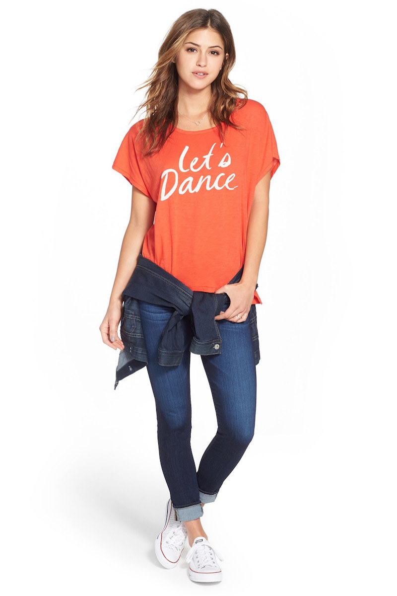 Sundry Let's Dance Graphic Tee