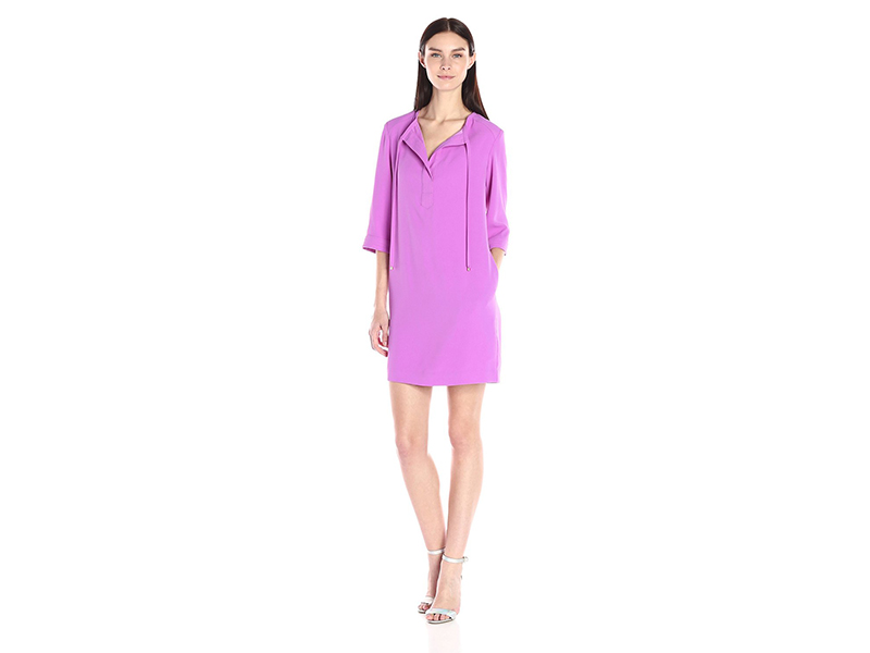Trina Turk Bertina Carmel Crepe Dress