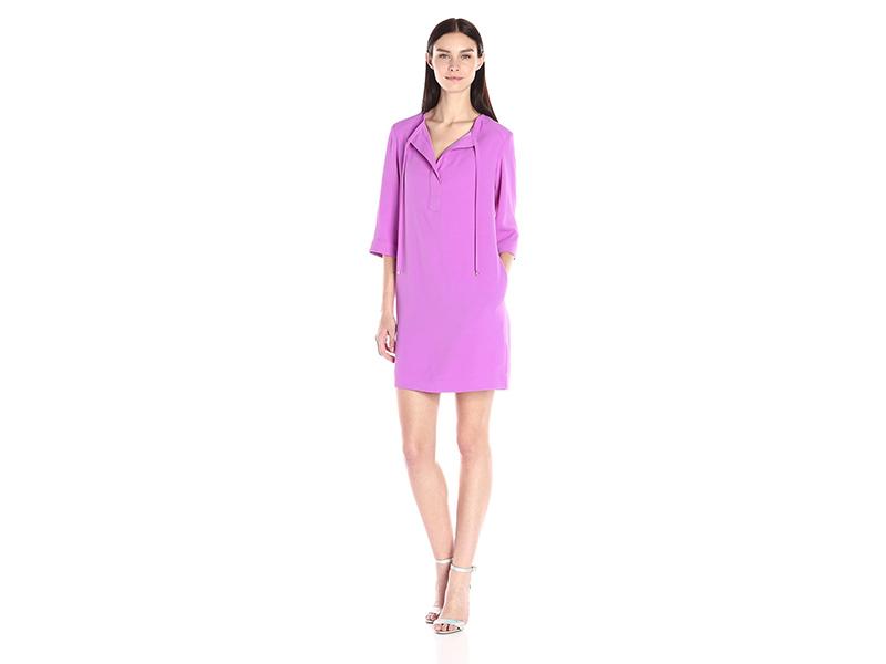 Trina Turk Bertina Carmel Crepe Dress