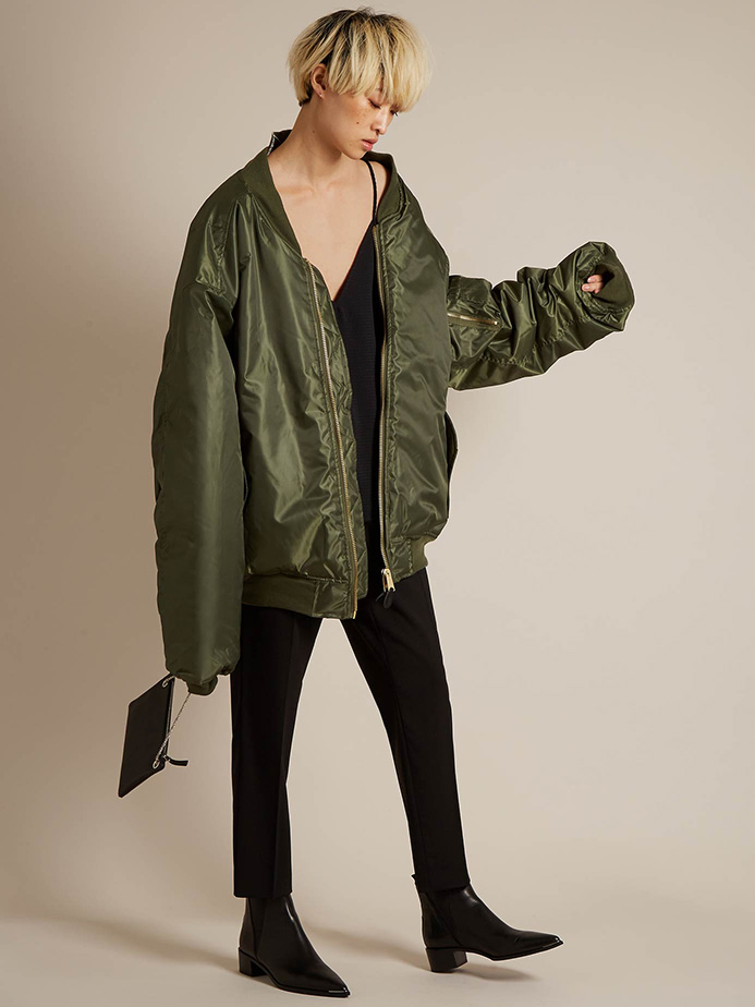 Vetements Reworked oversized bomber jacket