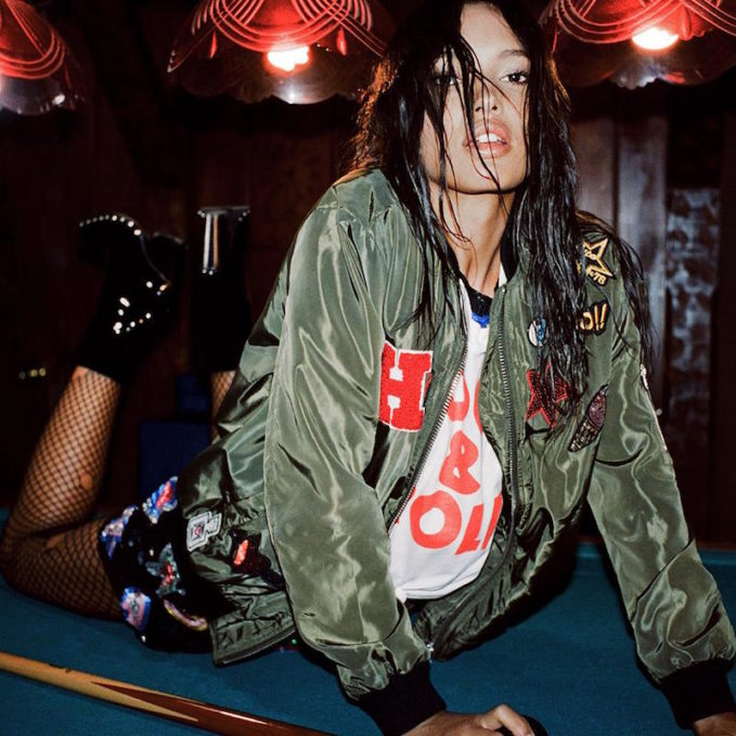 What a Patch Bomber Jacket