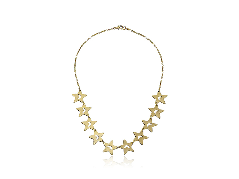 Yochi Parade of Star Necklace