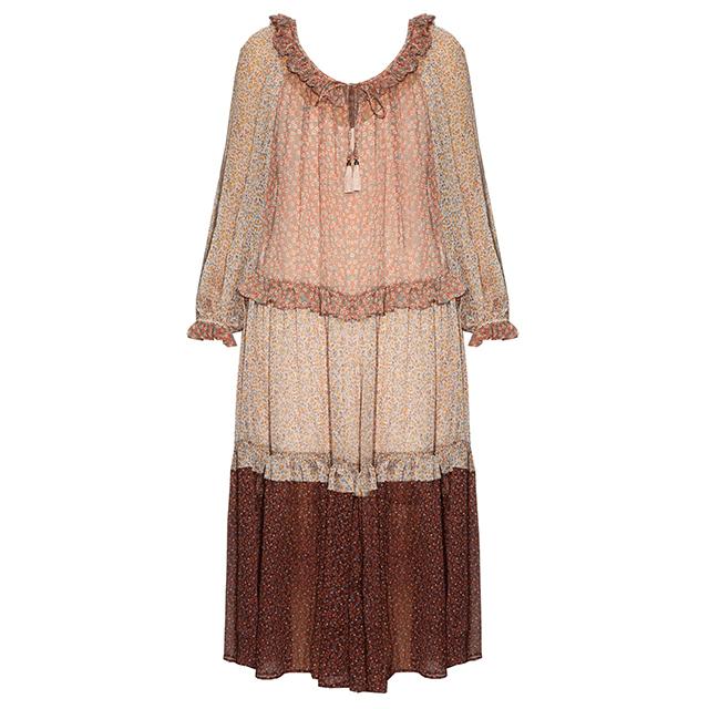 Zimmerman Eden Floral-print Crepon Dress