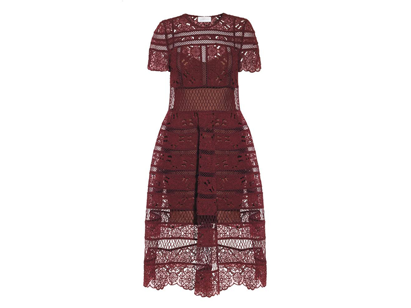 Zimmermann Guipure Lace Dress