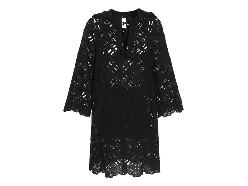 Zimmermann Hooded Broderie Anglaise Cotton Dress