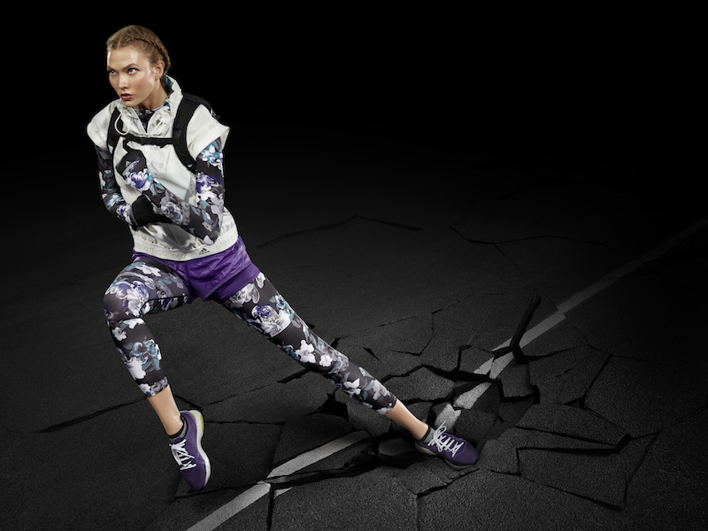 adidas by Stella Mccartney Purple Dark Blossom Leggings