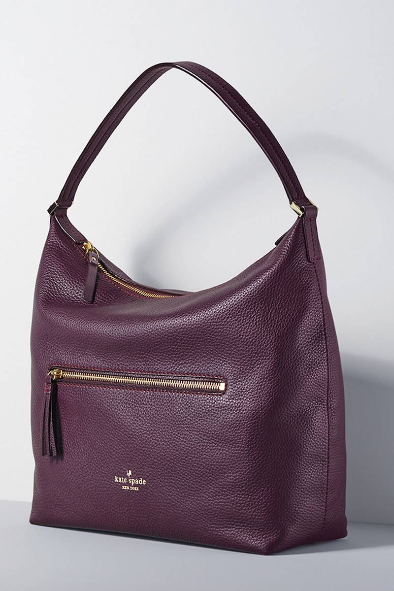 kate spade new york spencer court caren leather hobo
