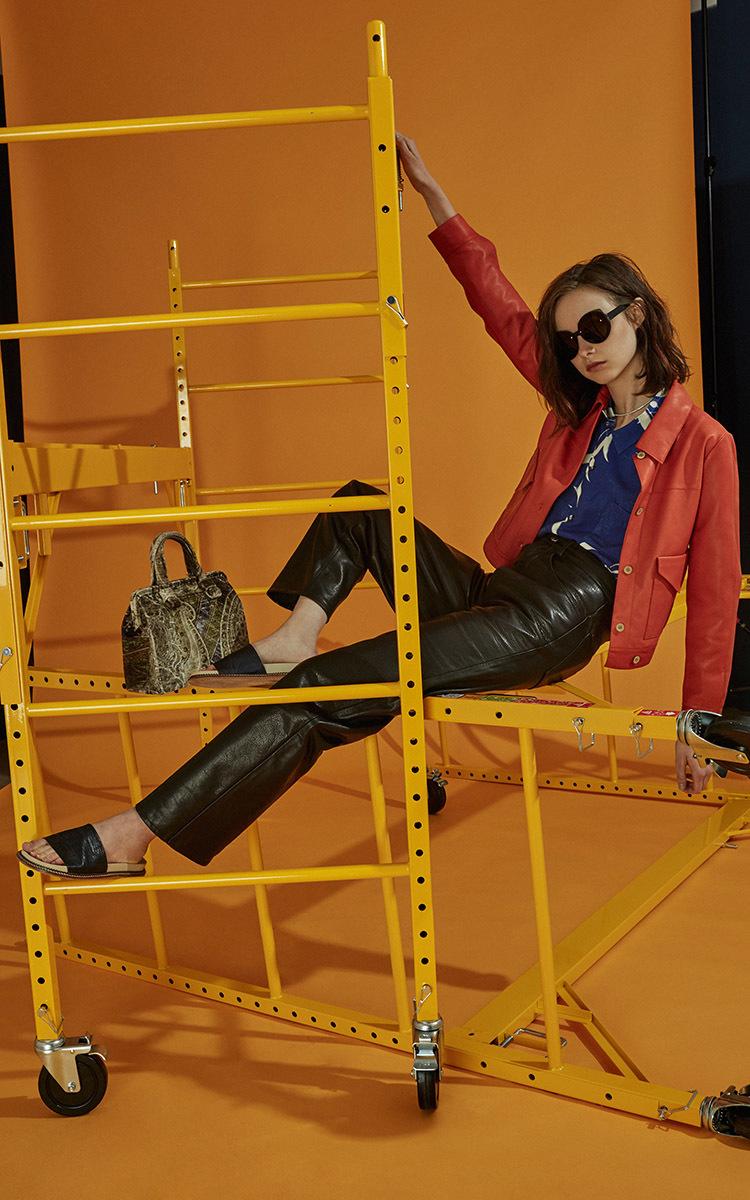Áeron Denim Style Jacket