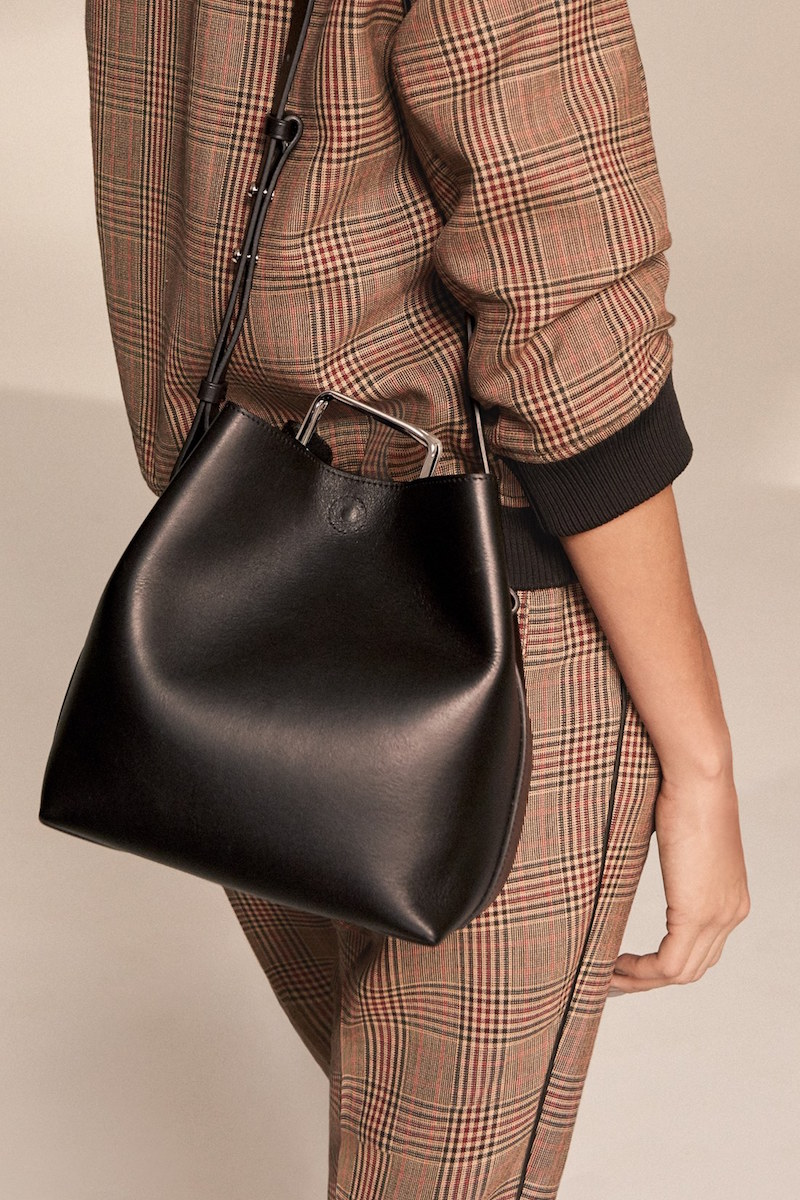 3.1 Phillip Lim Mini Quill Leather Bucket Bag