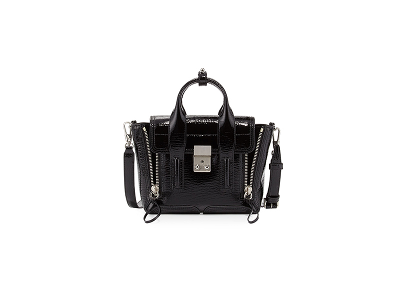 3.1 Phillip Lim Pashli Patent Mini Satchel Bag