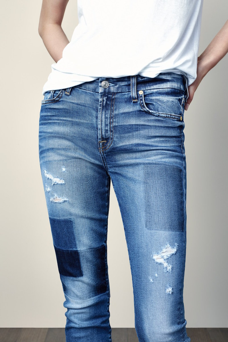7 For All Mankind Ankle Skinny Jeans_1