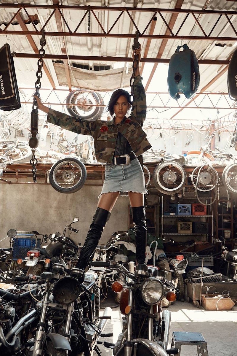 After Party by Nasty Gal Drifter Levi's Denim Skirt