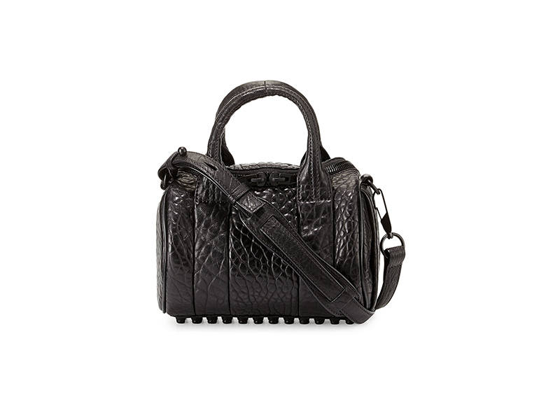 Alexander Wang Mini Rockie Leather Satchel Bag