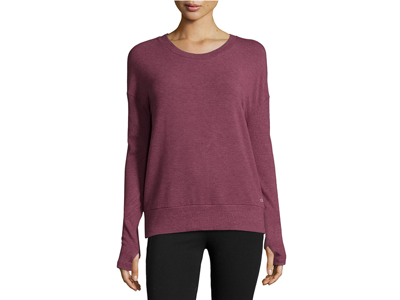 Alo Yoga Intricate Cutout-Back Sport Pullover_1