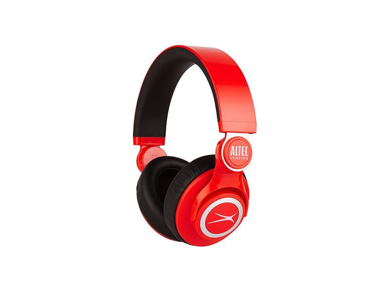Altec Lansing MZX756-RED KickBack Headphones