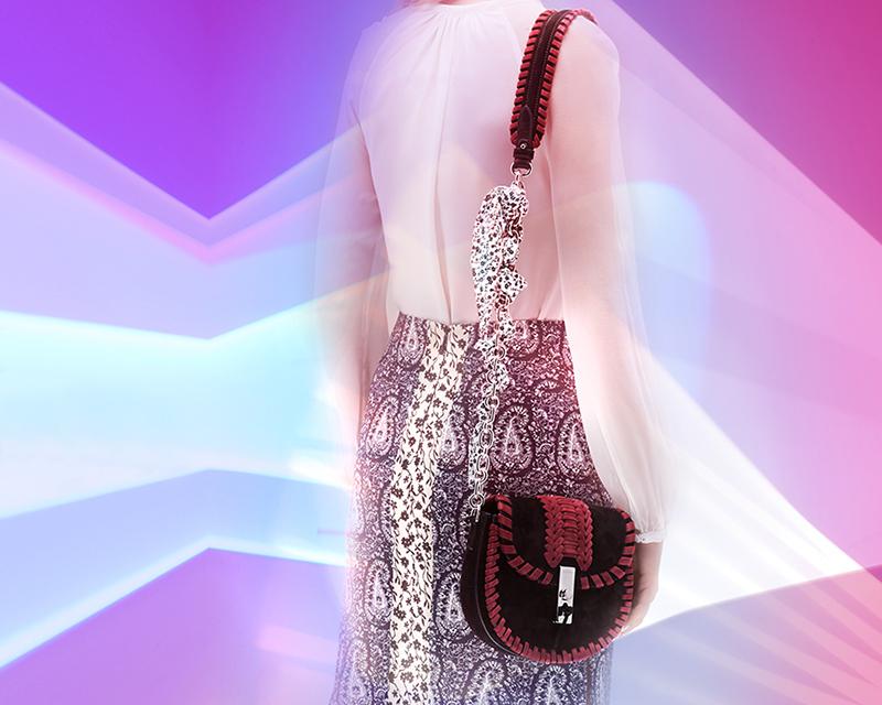 Altuzarra Ghianda Mini Chain Saddle Bag