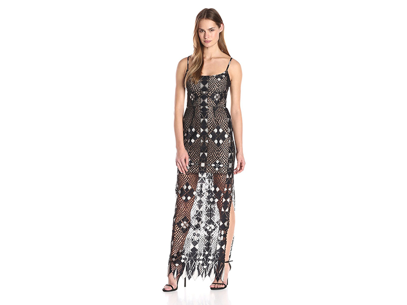 BCBGMAXAZRIA Evelina Fitted Bustier Gown