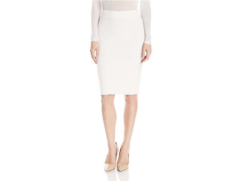 BCBGMAXAZRIA Nathalia Full-Needle Skirt