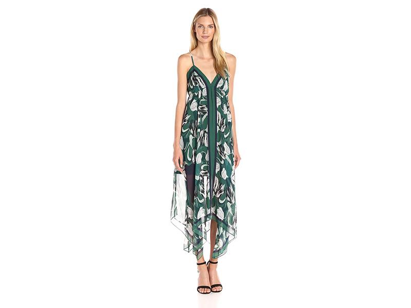 BCBGMax Azria Isabela A-Line Handkerchief Dress