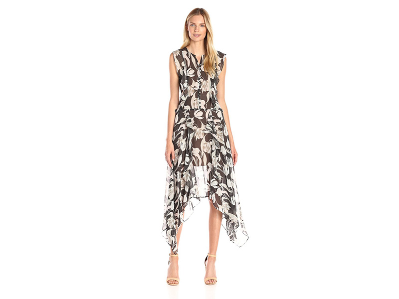 BCBGMax Azria Jann Printed Sleeveless Dress
