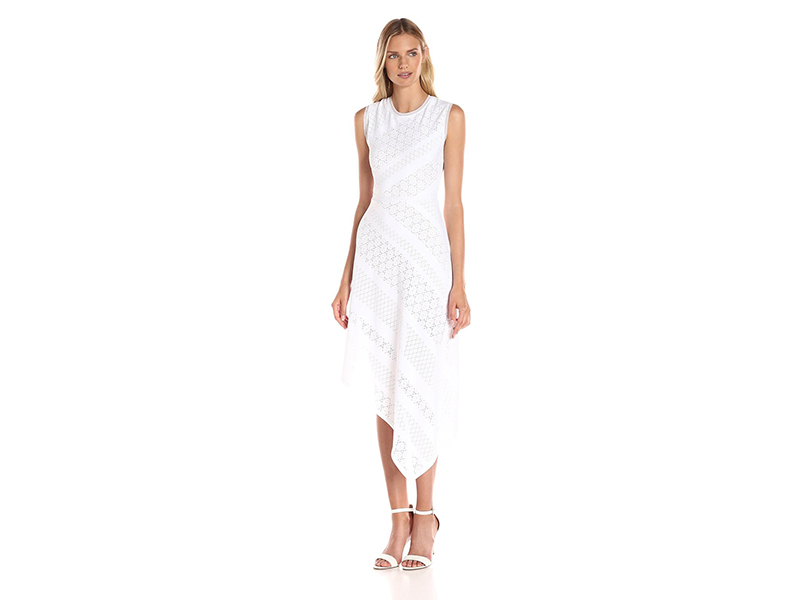 BCBGMax Azria Tracie Sleeveless Aymmetrical Dress